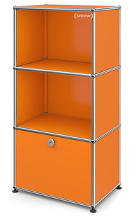 USM Haller Kinder Highboard Reinorange RAL 2004