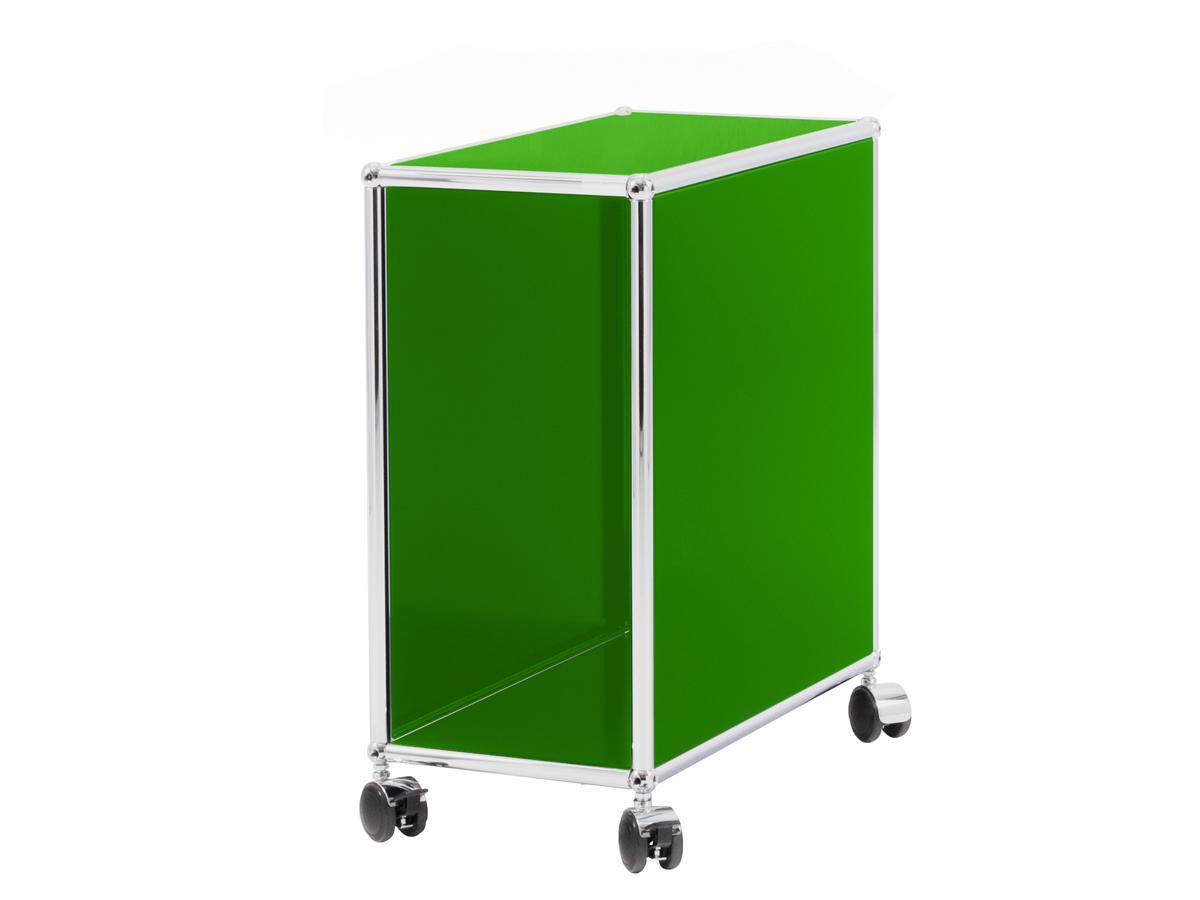 usm haller computer trolley usm gr n von fritz haller. Black Bedroom Furniture Sets. Home Design Ideas