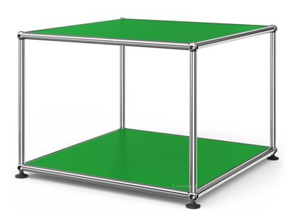 usm haller beistelltisch 50 oben und unten metall usm. Black Bedroom Furniture Sets. Home Design Ideas