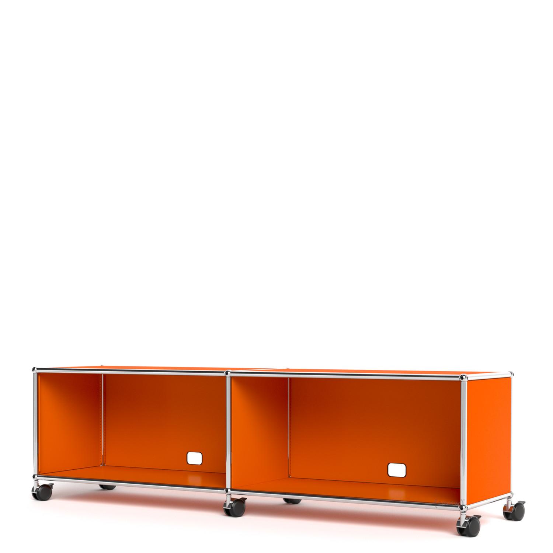 usm haller tv hi fi lowboard individualisierbar von fritz haller paul sch rer. Black Bedroom Furniture Sets. Home Design Ideas