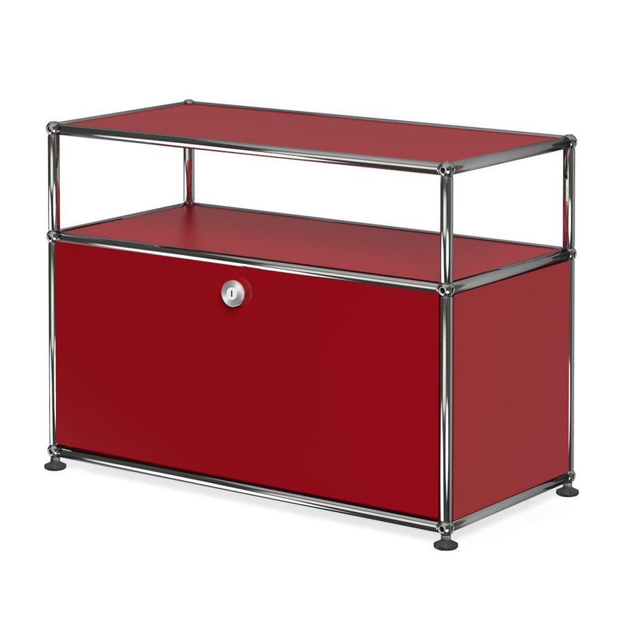usm haller lowboard m mit aufbau individualisierbar von. Black Bedroom Furniture Sets. Home Design Ideas