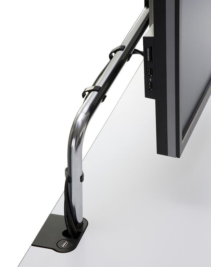 usm haller tisch plus von usm designerm bel von. Black Bedroom Furniture Sets. Home Design Ideas