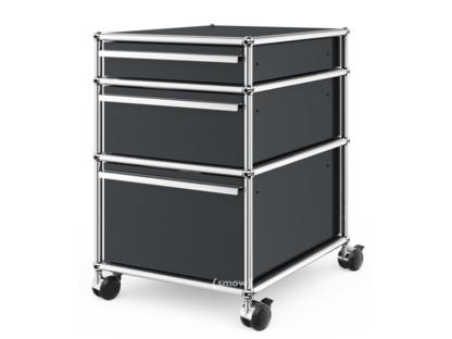 USM Haller Rollcontainer mit 3 Schubladen Typ II (mit Gegengewicht)