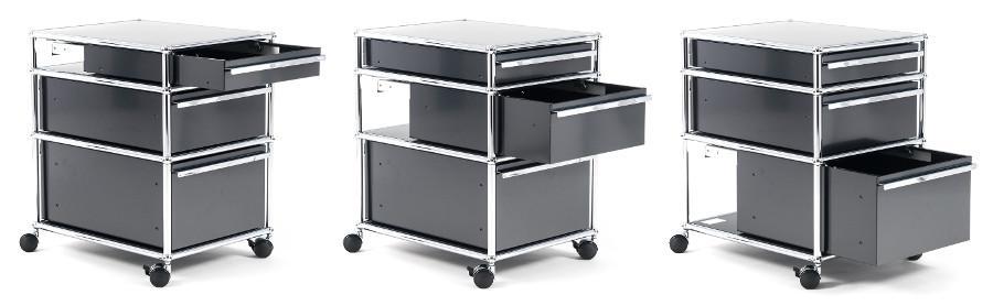 rollcontainer blech bestseller shop f r m bel und. Black Bedroom Furniture Sets. Home Design Ideas