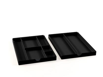 USM Inos Materialeinsatz für flache Schublade (Rollcontainer)
