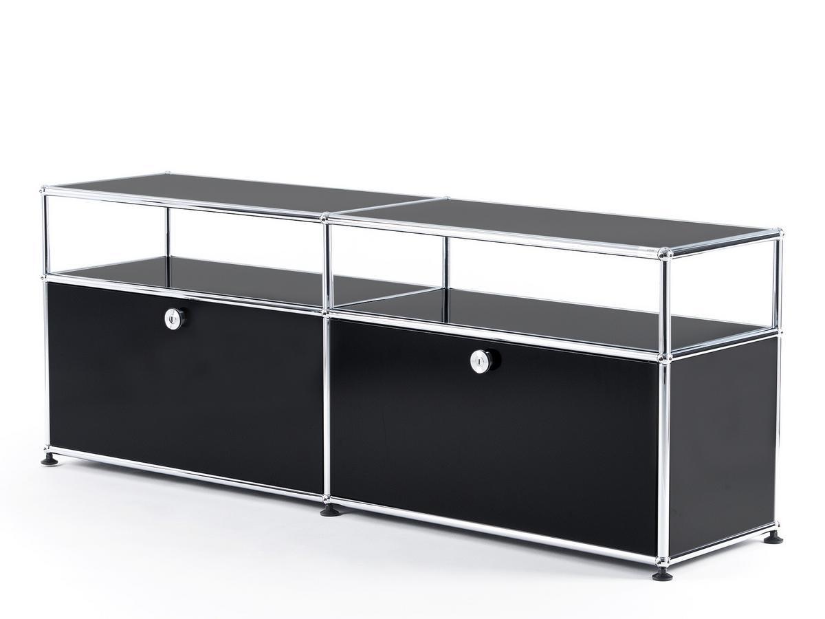 usm haller tv board mit aufbau von fritz haller paul. Black Bedroom Furniture Sets. Home Design Ideas