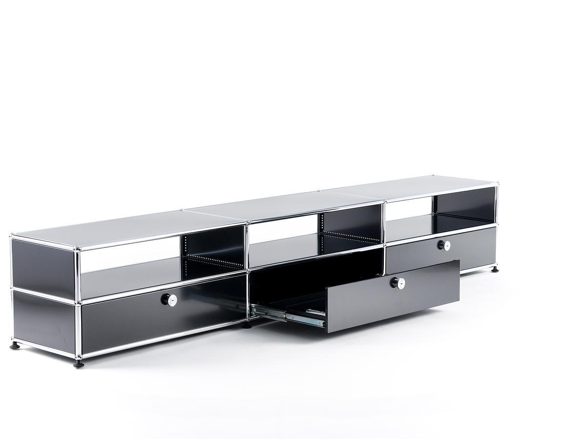 usm haller hifi lowboard von fritz haller paul sch rer designerm bel von. Black Bedroom Furniture Sets. Home Design Ideas