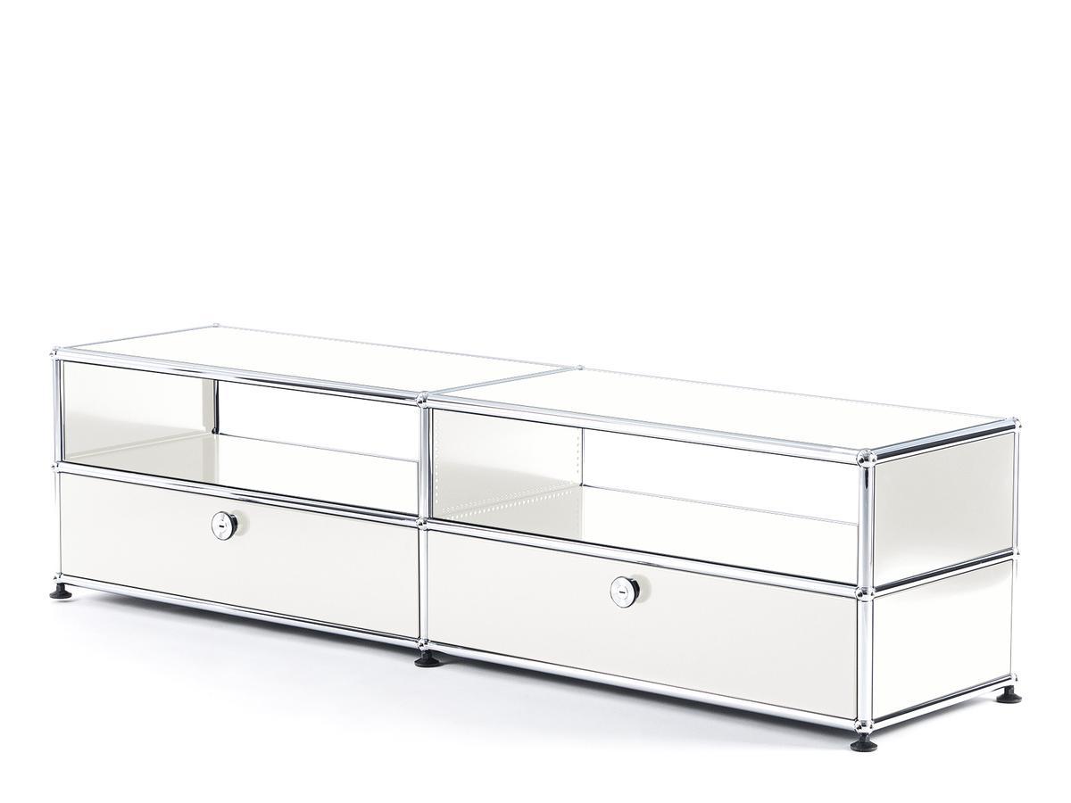 usm haller tv board mit auszieht ren von fritz haller. Black Bedroom Furniture Sets. Home Design Ideas