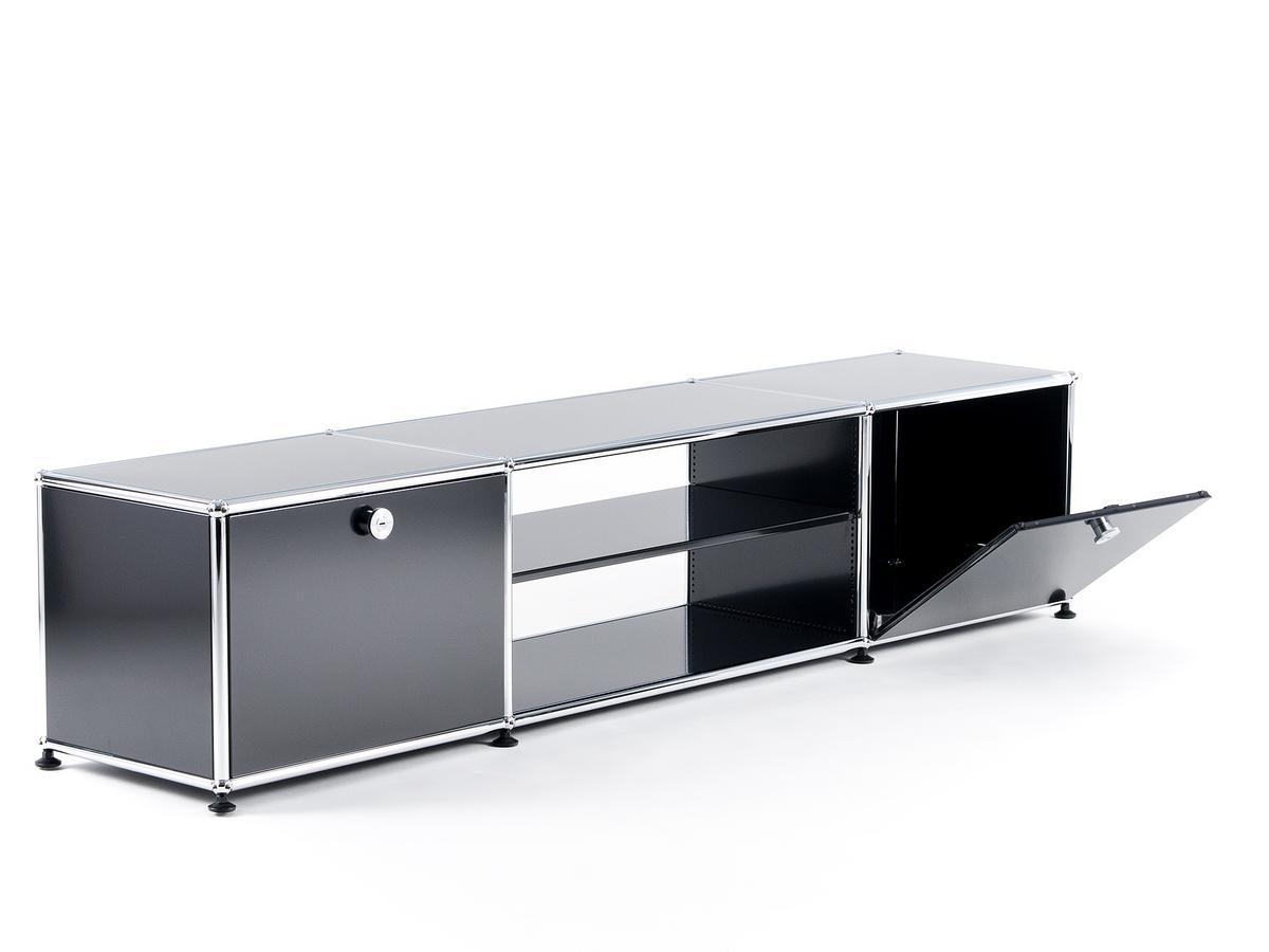 usm haller tv tisch von fritz haller paul sch rer designerm bel von. Black Bedroom Furniture Sets. Home Design Ideas