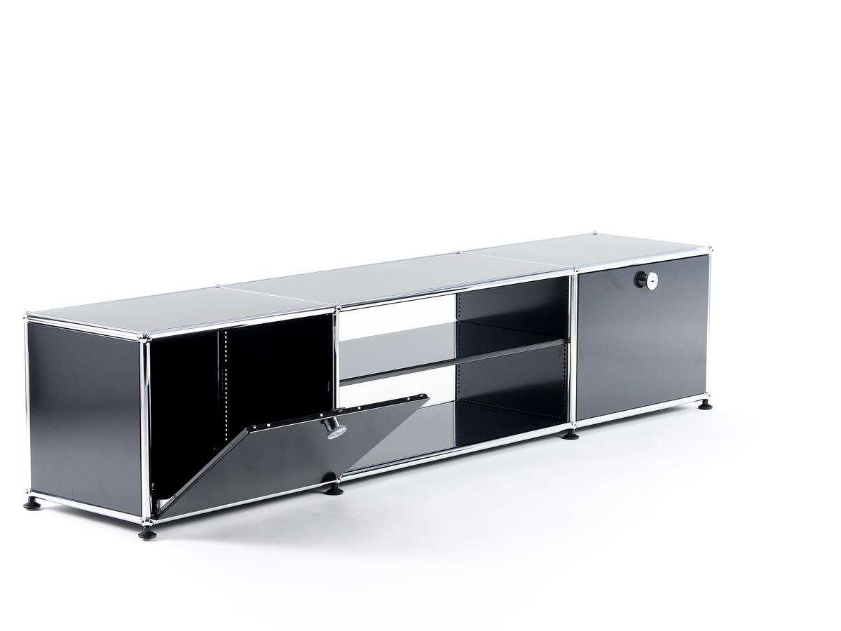 usm haller tv tisch von fritz haller paul sch rer designerm bel von. Black Bedroom Furniture Sets. Home Design Ideas