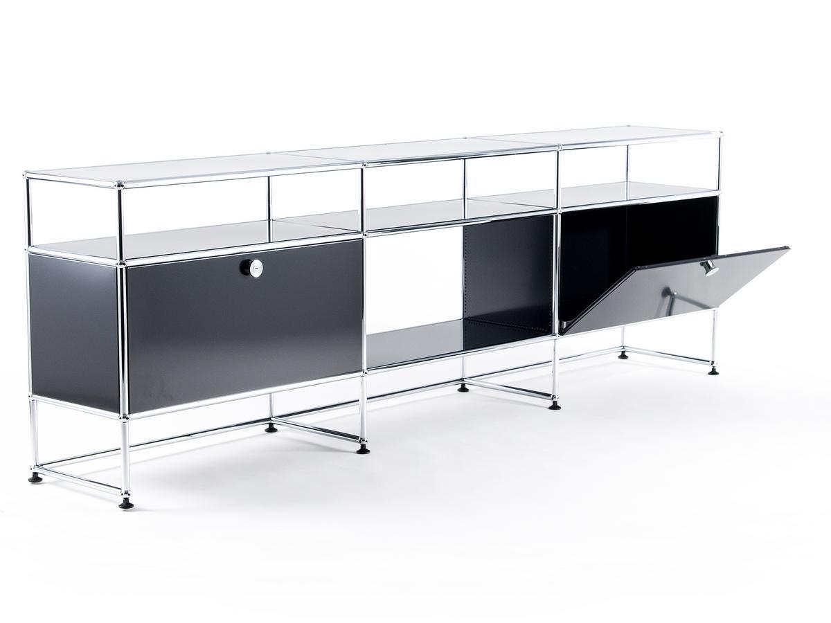 usm haller tv board xl von fritz haller paul sch rer designerm bel von. Black Bedroom Furniture Sets. Home Design Ideas