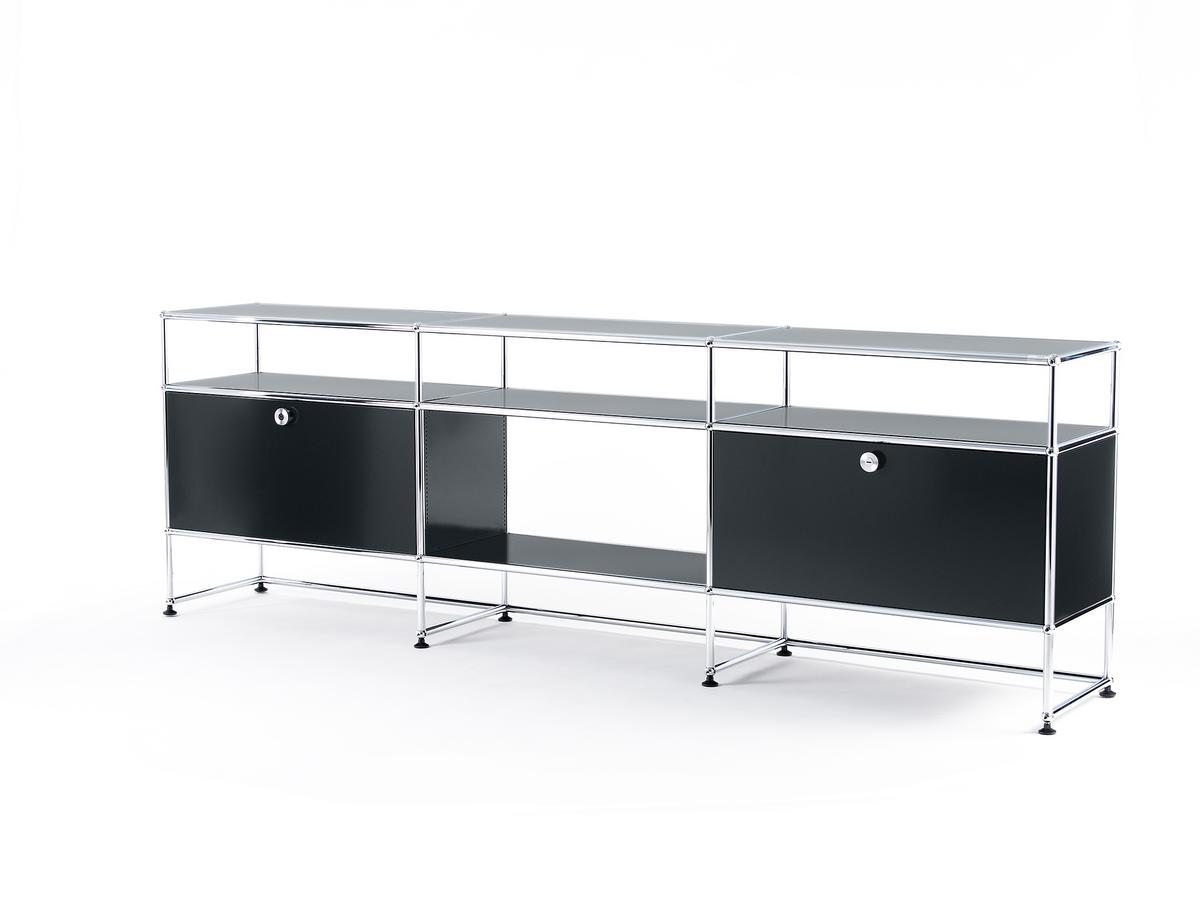 usm haller tv board xl von fritz haller paul sch rer. Black Bedroom Furniture Sets. Home Design Ideas