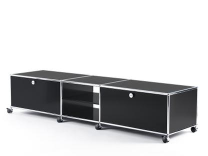 USM Haller TV-Lowboard XL auf Rollen