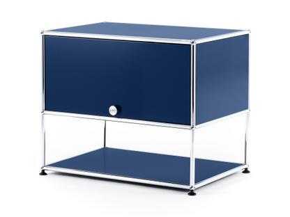 USM Haller TV-Rack Stahlblau RAL 5011