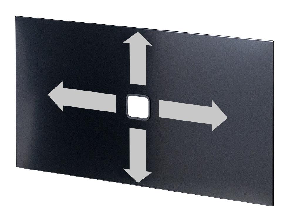 usm haller tablar mit kabeldurchlass von fritz haller. Black Bedroom Furniture Sets. Home Design Ideas