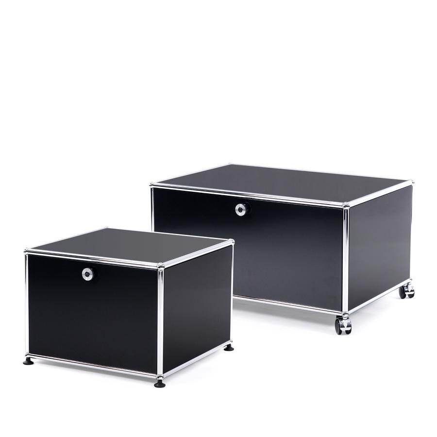 usm haller druckercontainer von fritz haller paul sch rer designerm bel von. Black Bedroom Furniture Sets. Home Design Ideas