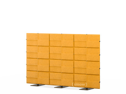 USM Privacy Panels Akustikwand 2,25 m (3 Elemente)|1,44 m (4 Elemente)|Gelb