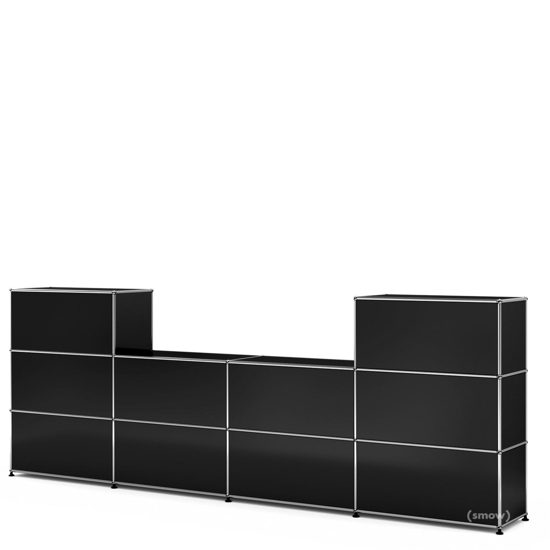 usm haller theke typ 3 von fritz haller paul sch rer. Black Bedroom Furniture Sets. Home Design Ideas