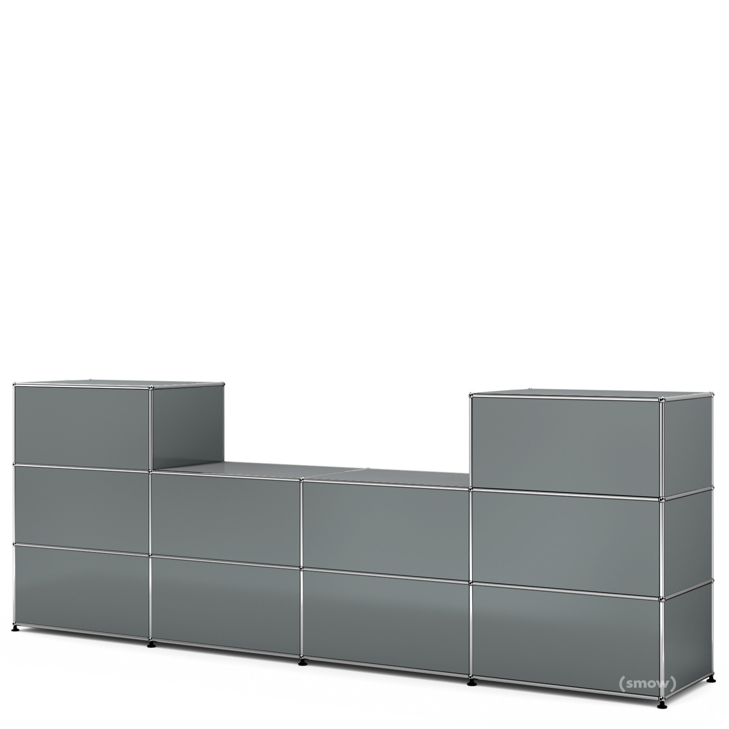 usm haller theke typ 3 mittelgrau ral 7005 50 cm von. Black Bedroom Furniture Sets. Home Design Ideas
