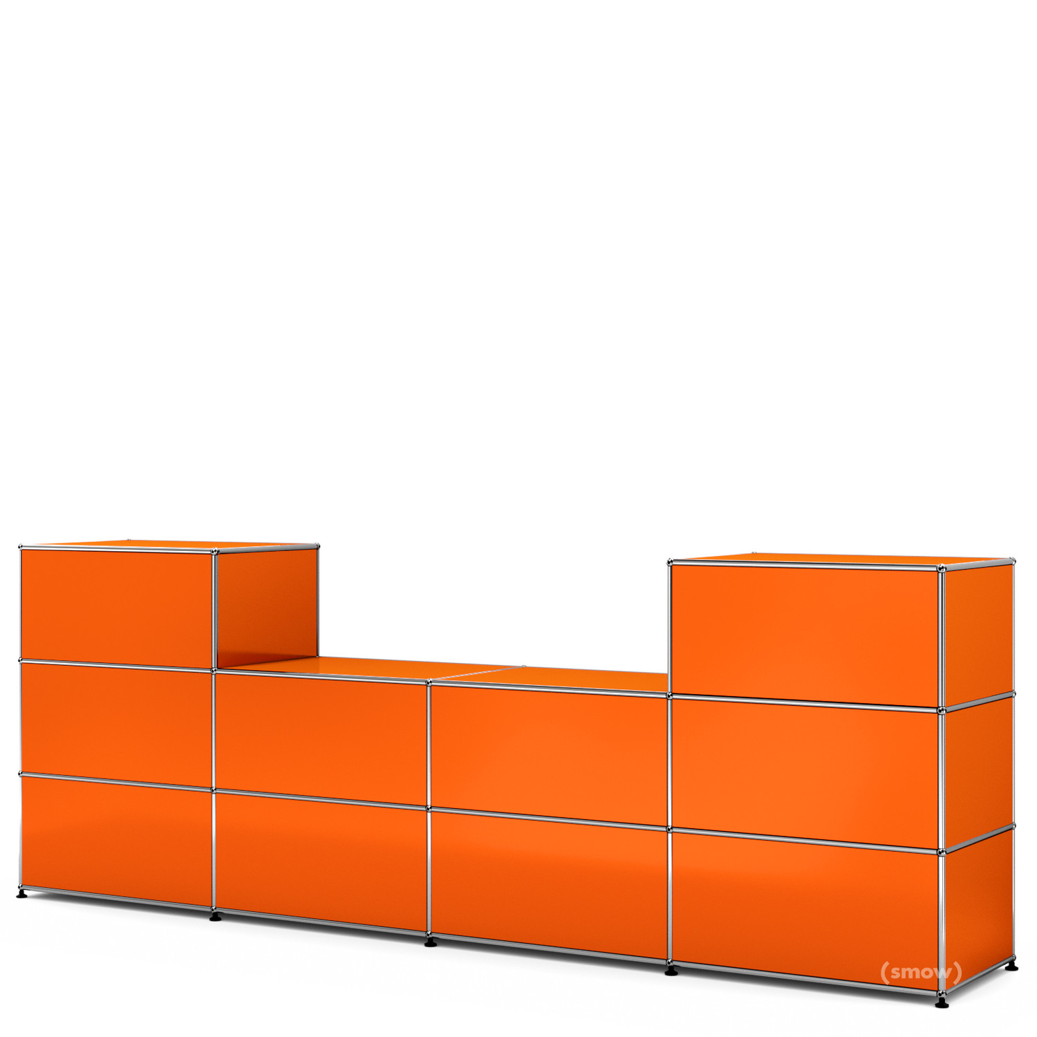 usm haller theke typ 3 reinorange ral 2004 50 cm von. Black Bedroom Furniture Sets. Home Design Ideas