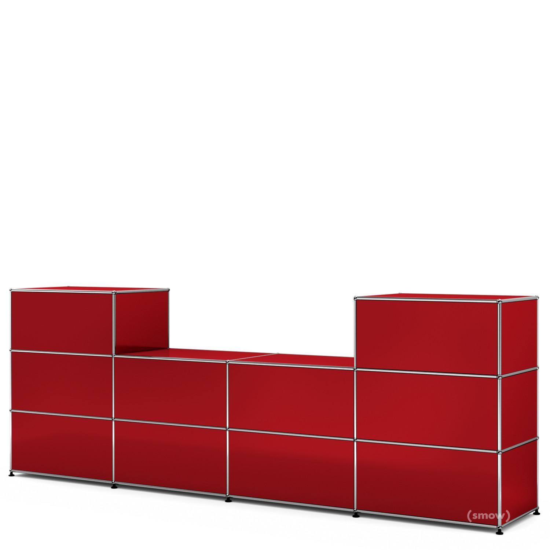 usm haller theke typ 3 usm rubinrot 50 cm von fritz. Black Bedroom Furniture Sets. Home Design Ideas