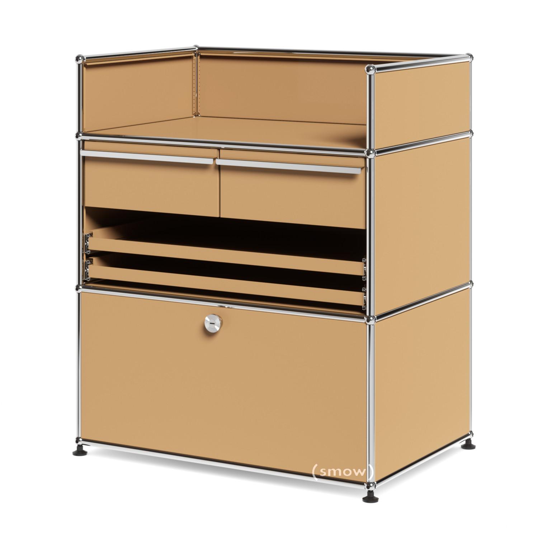 Rollcontainer metall praxis  USM Haller Praxis-Sideboard, USM beige, Kein Schloss von Fritz ...