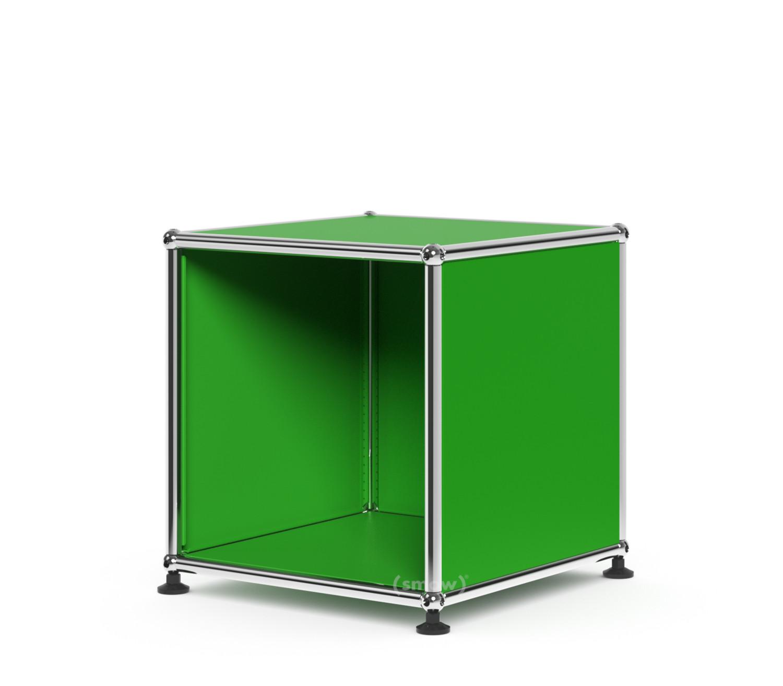 usm haller wartezimmer beistelltisch 35 x 35 cm usm gr n. Black Bedroom Furniture Sets. Home Design Ideas
