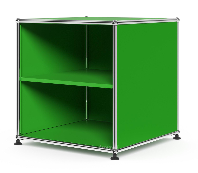 usm haller wartezimmer beistelltisch 50 x 50 cm usm gr n designerm bel von. Black Bedroom Furniture Sets. Home Design Ideas