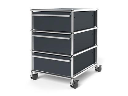 USM Haller Rollcontainer mit 3 Schubladen Typ I (mit Gegengewicht)