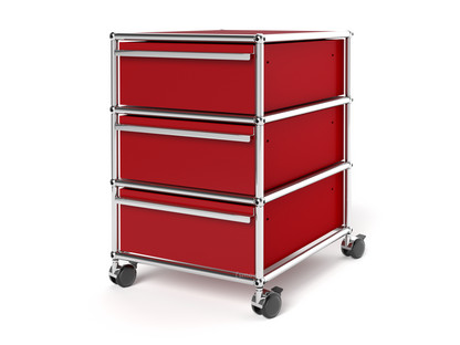 Rollcontainer designermöbel  USM Haller Rollcontainer mit 3 Schubladen Typ I (mit Gegengewicht ...