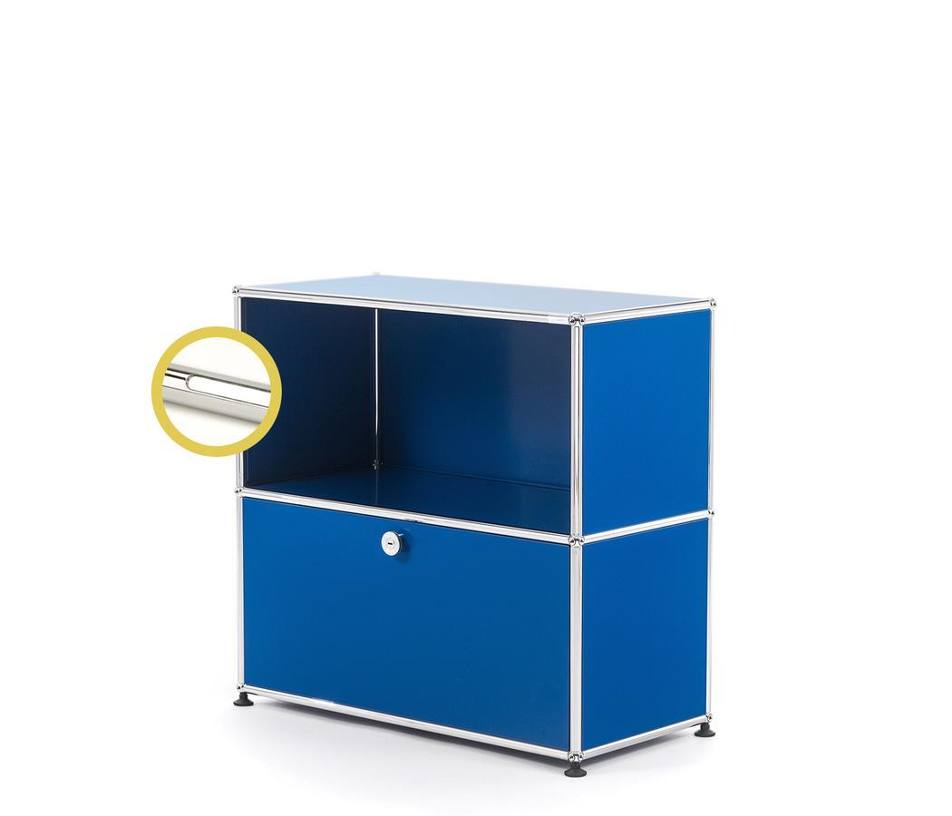 usm haller e sideboard m mit fachbeleuchtung von fritz. Black Bedroom Furniture Sets. Home Design Ideas