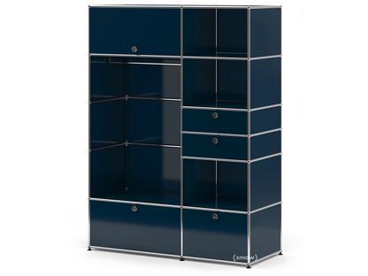 USM Haller Garderobenschrank Typ I Stahlblau RAL 5011