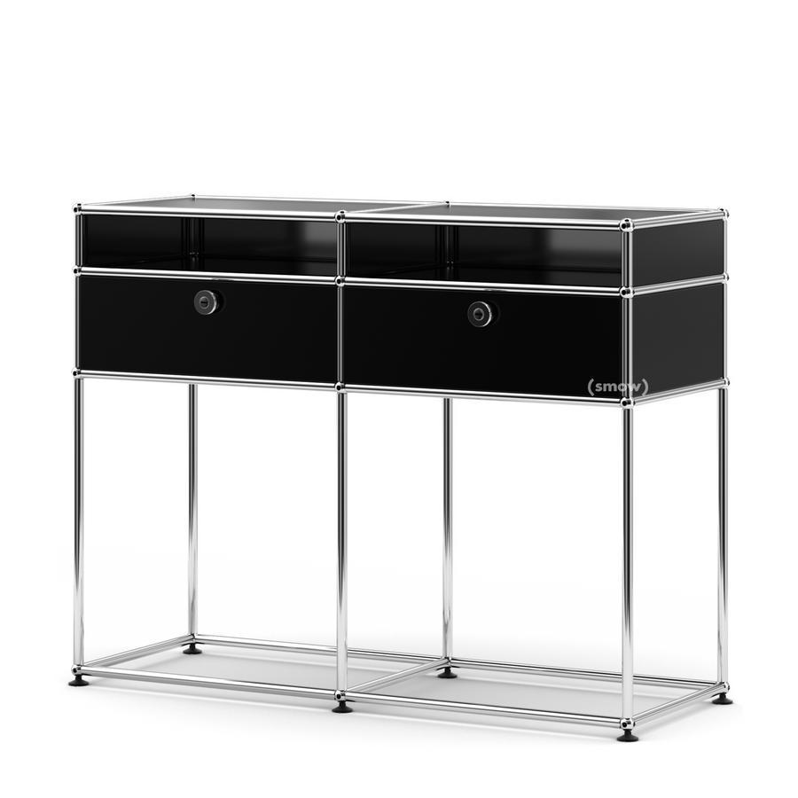 usm haller konsolentisch von fritz haller paul sch rer designerm bel von. Black Bedroom Furniture Sets. Home Design Ideas