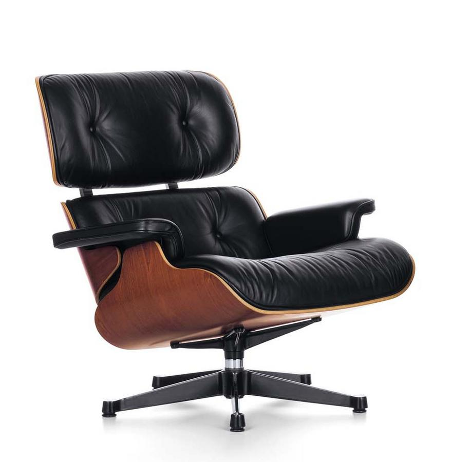 vitra lounge chair von charles ray eames 1956. Black Bedroom Furniture Sets. Home Design Ideas