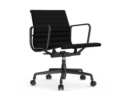 Aluminium Chair EA 117 Aluminium pulverbeschichtet tiefschwarz|Hopsak|Nero