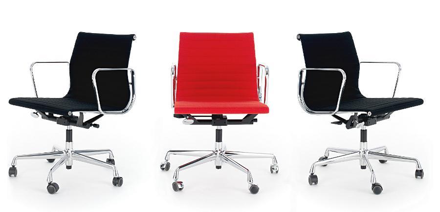 Vitra aluminium chair ea 117 von charles ray eames 1958 for Eames ea 117 replica
