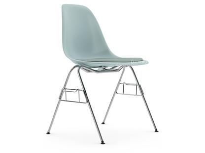 DSS Eisgrau|Mit Sitzpolster|Eisblau / elfenbein|Mit Reihenverbindung (DSS)