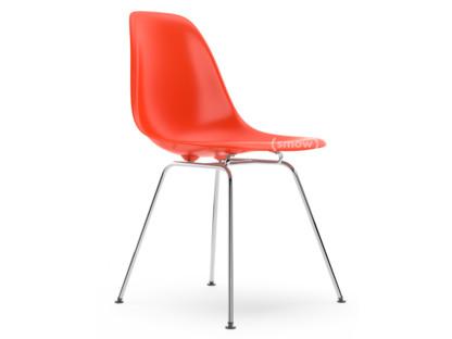 DSX Rot (poppy red)|Ohne Polsterung|Ohne Polsterung|Standardhöhe - 43 cm|Verchromt