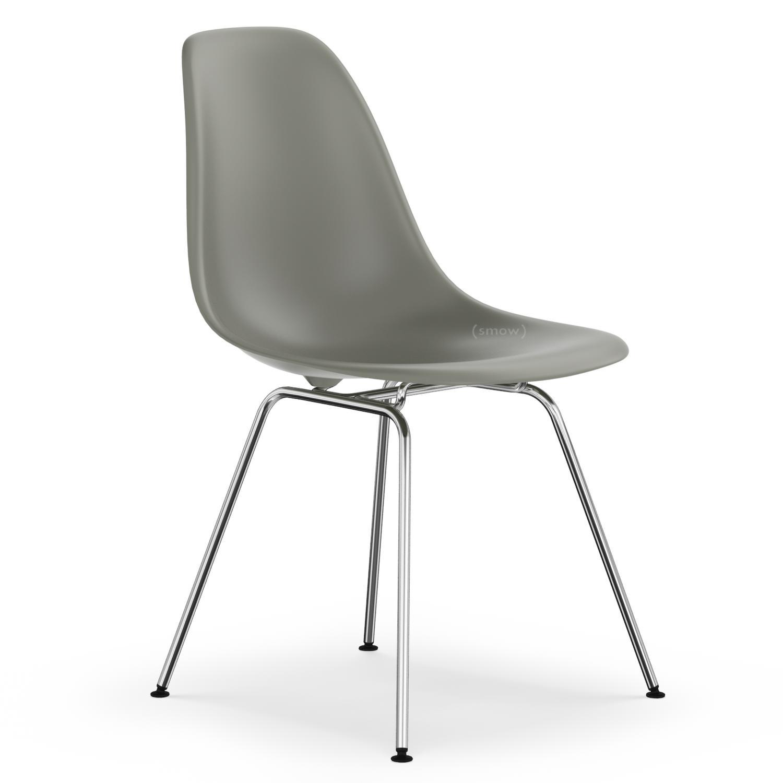 vitra dsx mauve grau ohne polsterung ohne polsterung niedrige h he klassisch 41 cm. Black Bedroom Furniture Sets. Home Design Ideas