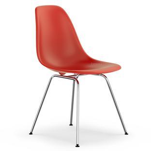DSX Classic red|Ohne Polsterung|Ohne Polsterung|Standardhöhe - neu (43 cm)|Verchromt
