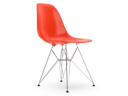 DSR Rot (poppy red)|Ohne Polsterung|Ohne Polsterung|Standardhöhe - 43 cm|Verchromt