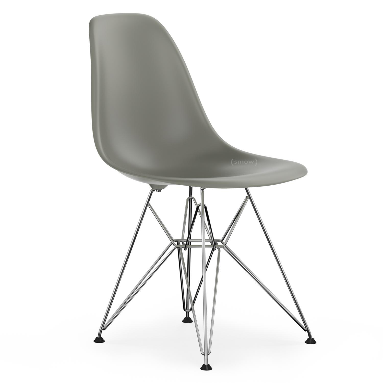 vitra dsr mauve grau ohne polsterung ohne polsterung standardh he neu 43 cm verchromt. Black Bedroom Furniture Sets. Home Design Ideas