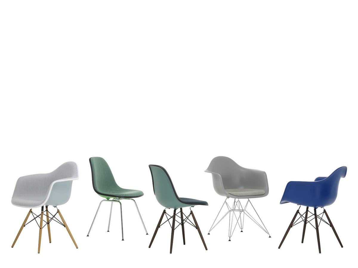 Eames stol vitra excellent vitra miniatures collection for Chaise dsw bascule