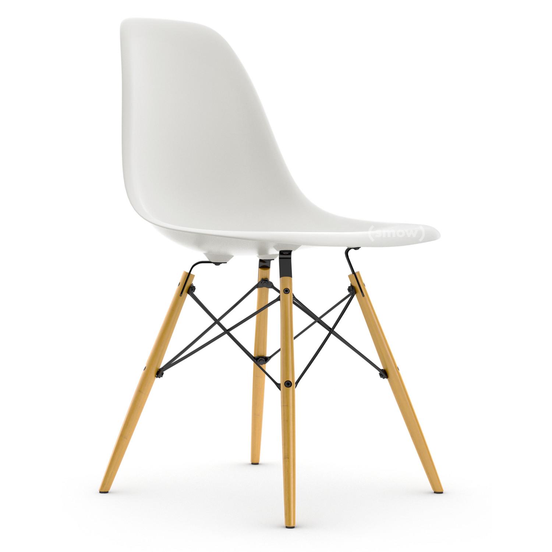 vitra dsw wei ohne polsterung ohne polsterung niedrige h he klassisch 41 cm ahorn gelblich. Black Bedroom Furniture Sets. Home Design Ideas