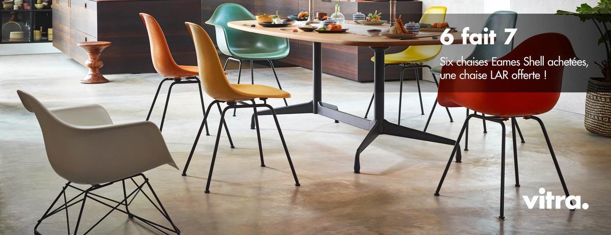 Vitra Eames Plastic Side Chair PSCC, Bleu océan, Avec