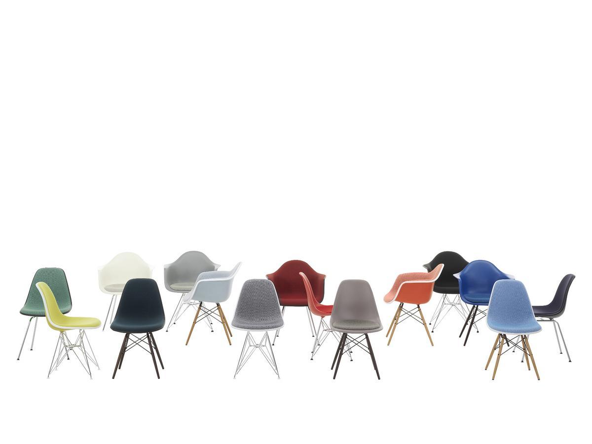 vitra dax senf ohne polsterung ohne polsterung niedrige h he klassisch 41 cm verchromt. Black Bedroom Furniture Sets. Home Design Ideas