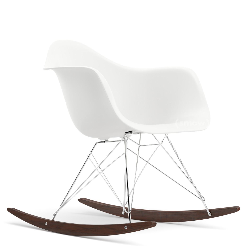 Vitra Rar Weiß Verchromt Ahorn Dunkel Von Charles Ray Eames