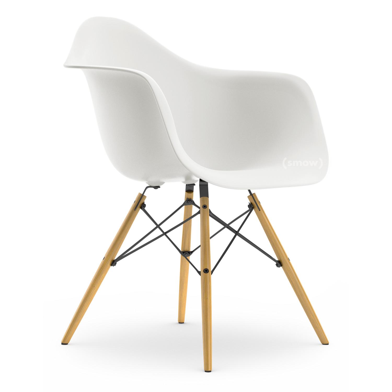 vitra daw wei ohne polsterung ohne polsterung standardh he neu 43 cm esche honigfarben. Black Bedroom Furniture Sets. Home Design Ideas