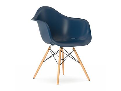 Eames Plastic Side Chair DSS Stuhl Vitra-Marineblau