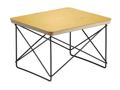 LTR Occasional Table HPL, blattgold|Pulverbeschichtet basic dark